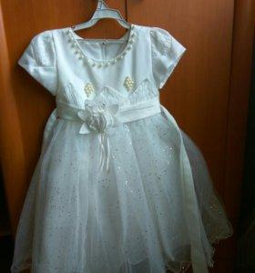 Платье детское на 110-130 см