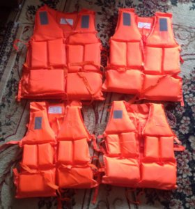 Спасательные жилеты(новые)
