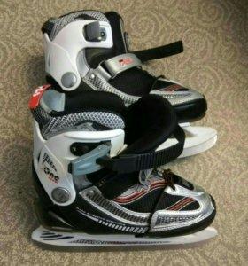Хоккейные коньки раздвижные