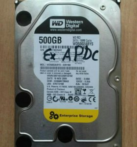 "HDD 3.5"" 500GB Western Digital"