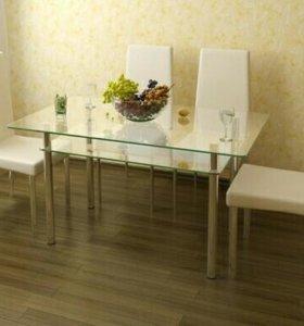 Столы стеклянные Мебель из стекла