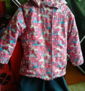 Зимние куртка и штаны