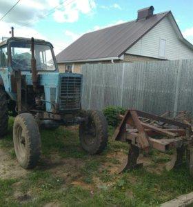 Трактор мтз 80 с навесным оборудованием