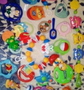 Детские игрушки, погремушки)