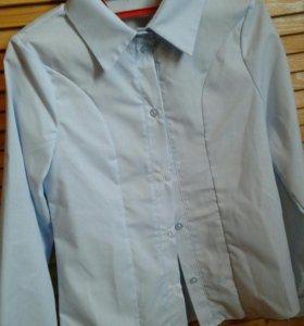 Рубашка школьная(новая) для девочки