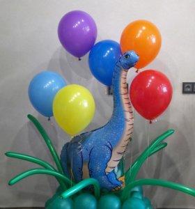 Любые композиции из воздушных шаров