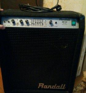 Басовый комбо-усилитель Randall RB100