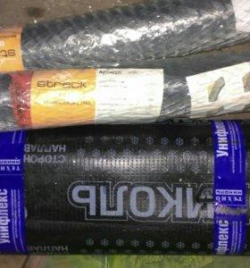 Бикрост(10м) и штукатурочные сетки (2рул. 30м)