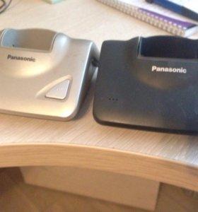 базы для телефонов. Panasonic