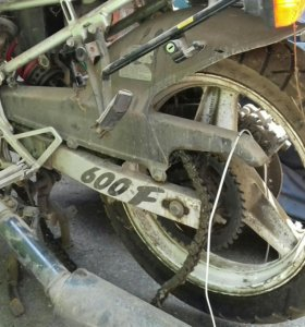 Мотоцикл honda cbr 600f в разбор
