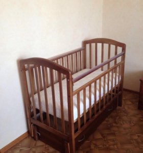 Детская кровать- качалка