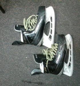 Хоккейные коньки BAUER SUPREME MX3, размер 8 ЕЕ