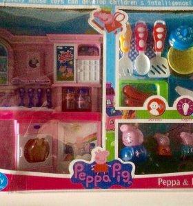 Свинка Пеппа кухня с посудкой с доставкой