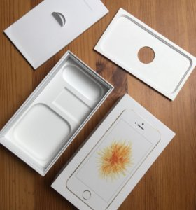 Коробка от iPhone SE