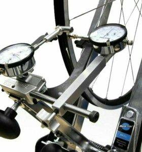 Выравнивание колёс (спицы)