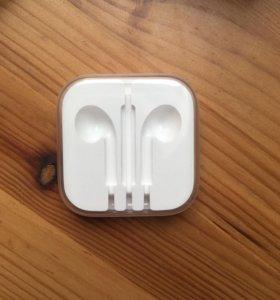 Коробка от наушников iPhone SE