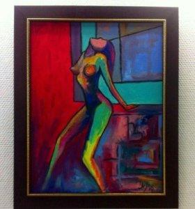 """Картина """"Краски женщины"""""""