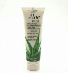 Крем Aloe Vera омолаживающий дневной
