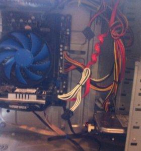 Игравой компьютор в полном сборе