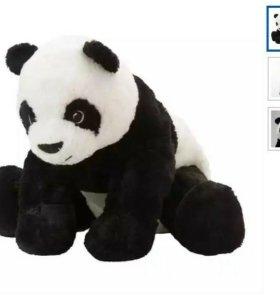Ikea крамиг панда мягкая игрушка плюшевая