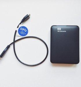 Внешний жесткий диск Western Digital 2TB