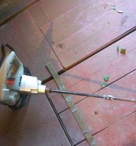 Смеситель ручной электрический(бетономешалка)