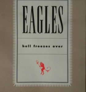 "DVD Eagles ""Hell freezes over"""