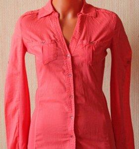 Рубашка Mango Basics