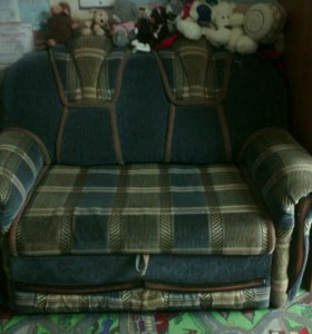 Раздвижной диван.