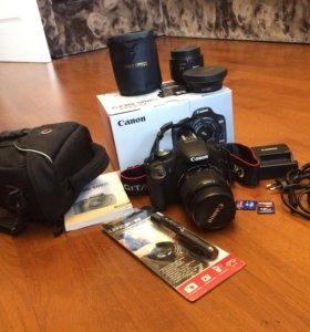 Цифровая зеркальная камера Canon EOS 500D