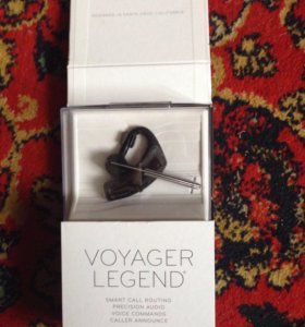 Bluetooth-гарнитура Voyager legend новый