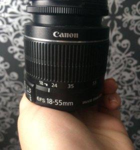 Объектив Canon EF-S 18-55 macro 0.25m\0. 8ft
