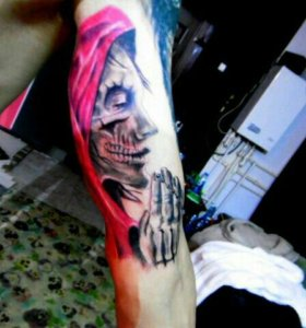 Татуировка нанесение,исправление..