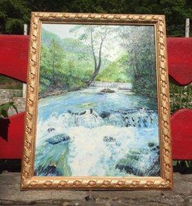 Картина ,, водопад ,,