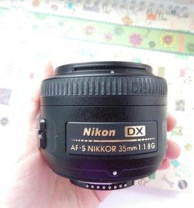 Nikon 35 mm 1.8 G af-s