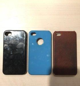 Чехлы на айфон 4,4s
