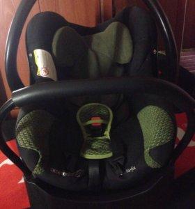 Автолюлька+база (кресло до 15 кг)