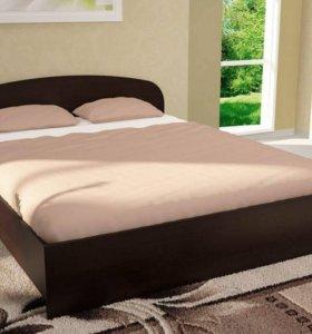 Кровать ЛДСП 1.6 м (с подъемным механизмом)