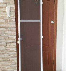Москитная сетка дверная, балконная