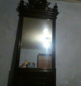 Зеркало, старинное