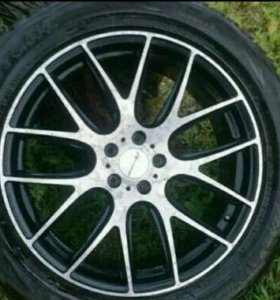 Продам шины и диски б/у R20 Bridgestone Blizzak D1