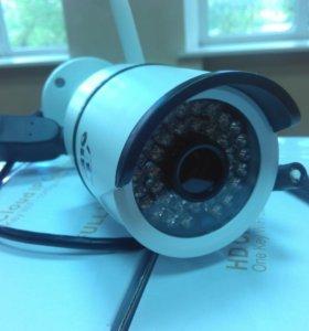 Комплект IP Камеры 1080p WiFi, Регистратор 750gb