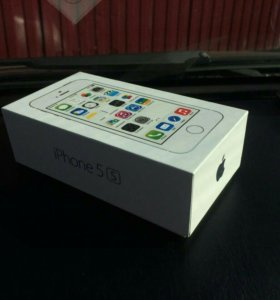 Телефон IPhone 5S silver 32 Gb новый