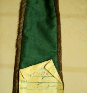 Новый галстук из меха оленя