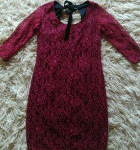 Платье кружево новое