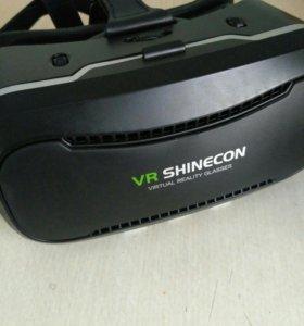 VR Shinecon + беспроводной геймпад Mocute-050