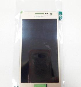 Дисплей Samsung A300F(A3 2015)+тачскрин(золотой)