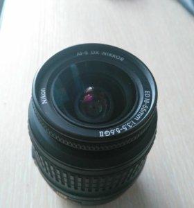 Объектив Nikon af-s 18-55mm f/3.5-5.6G ED II