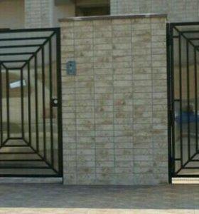 Калитка ворота.