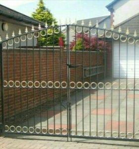 Ворота. Ковка для вашего дома
